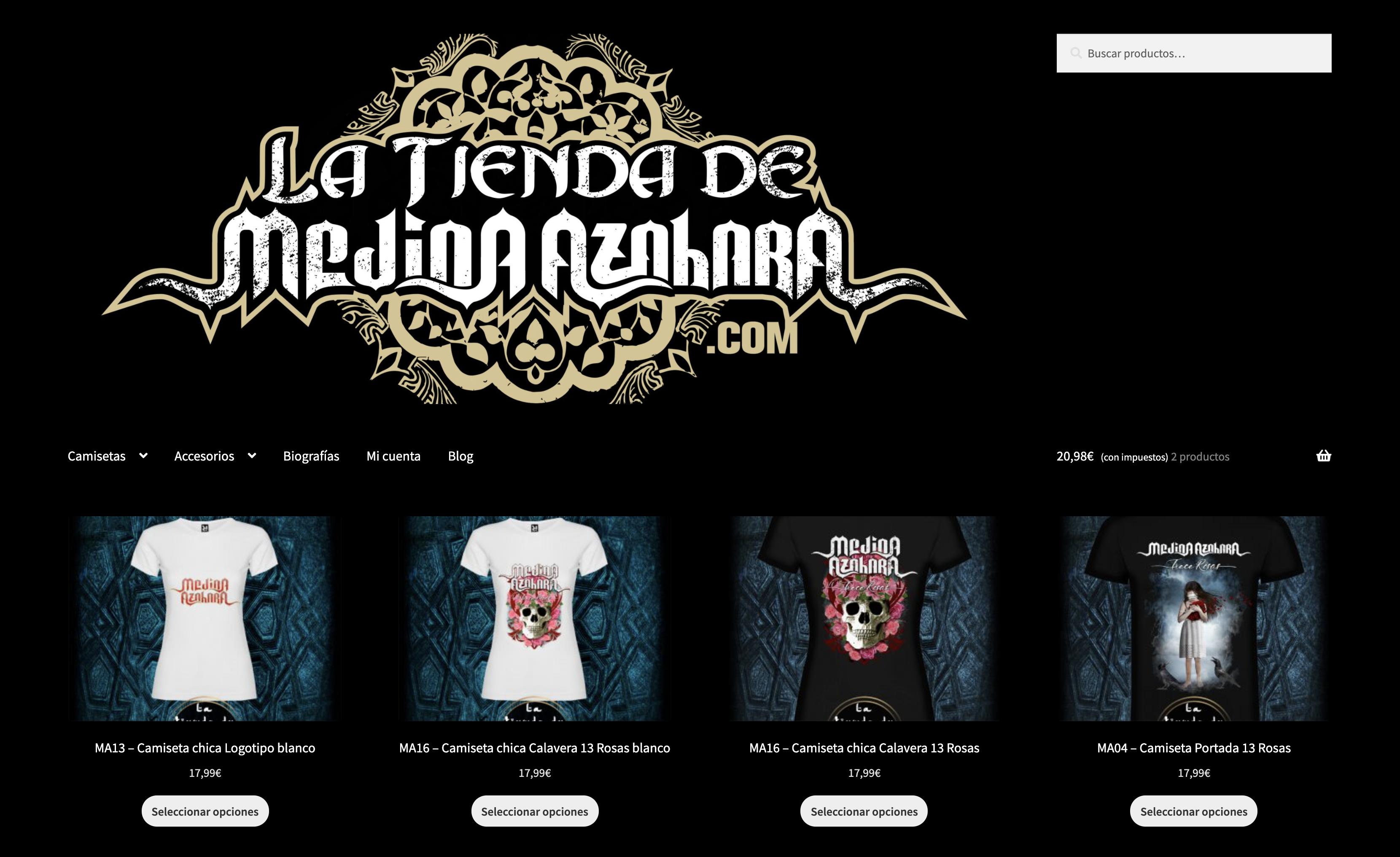 Tienda Online de Medina Azahara