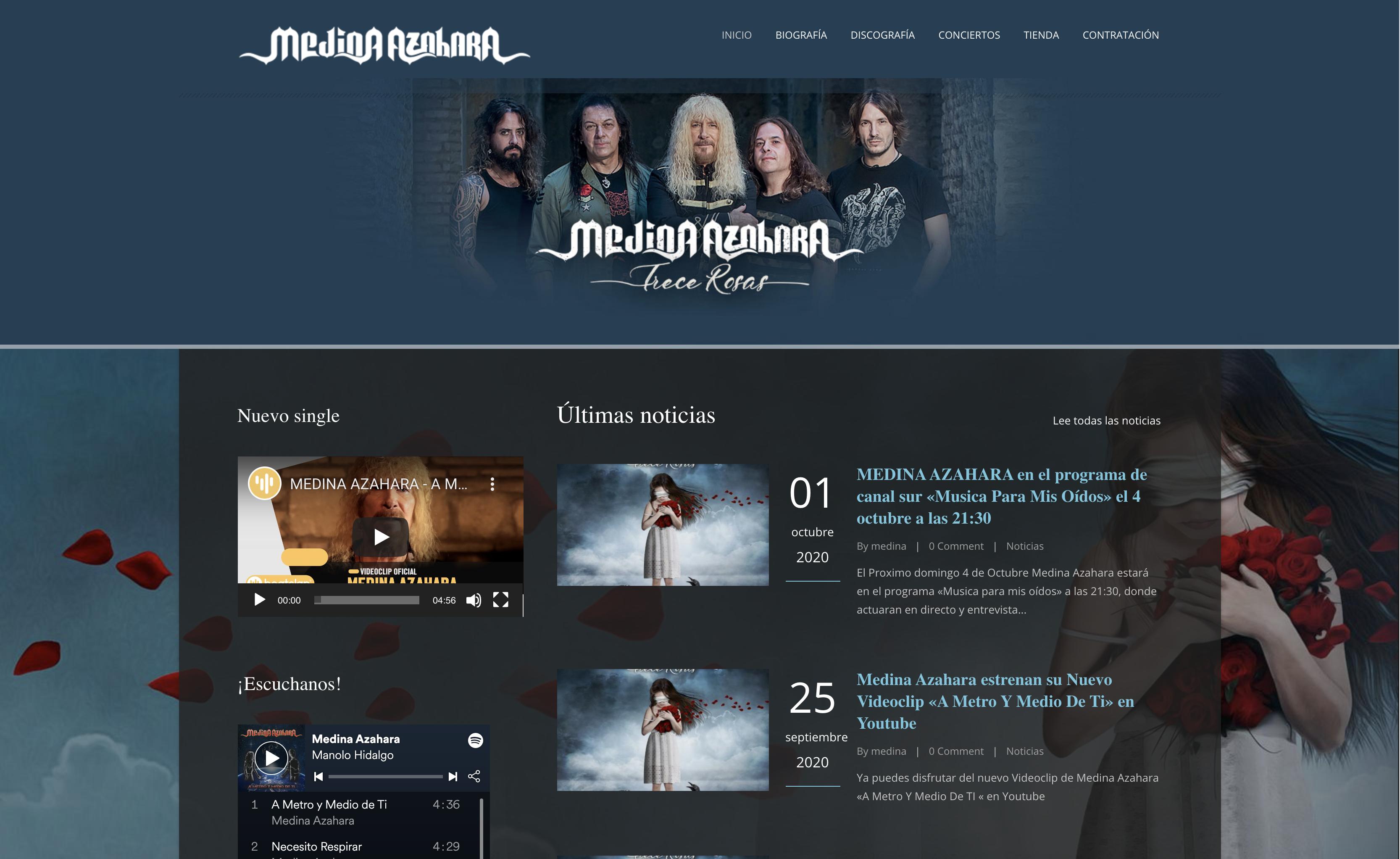 Nueva web de Medina Azahara