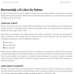 El Libro de Python