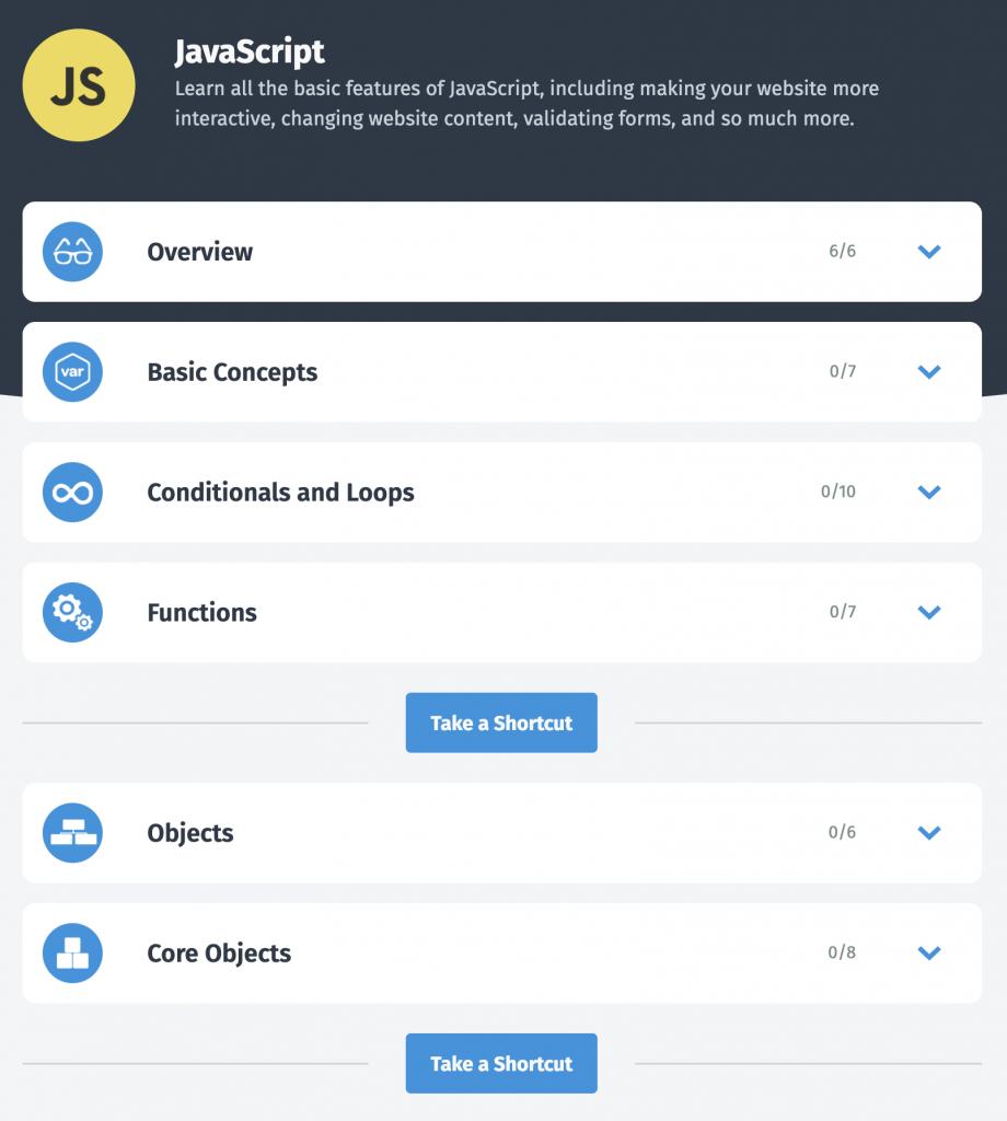 Curso de JavaScript en SoloLearn